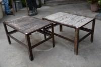 Wood & Metal Industrial Tables | Detroit Garden Works