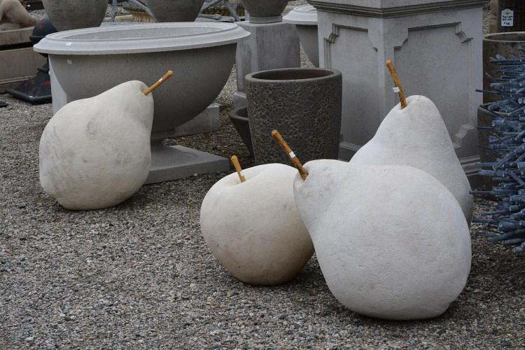 Pear Apple Sculpture