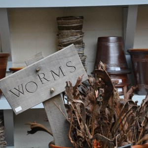 Worms Wooden Sign
