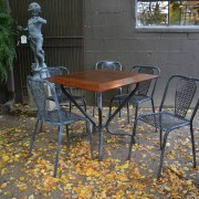 ipe-and-steel-table-water