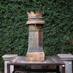 Antique English Crown Chimney Pot