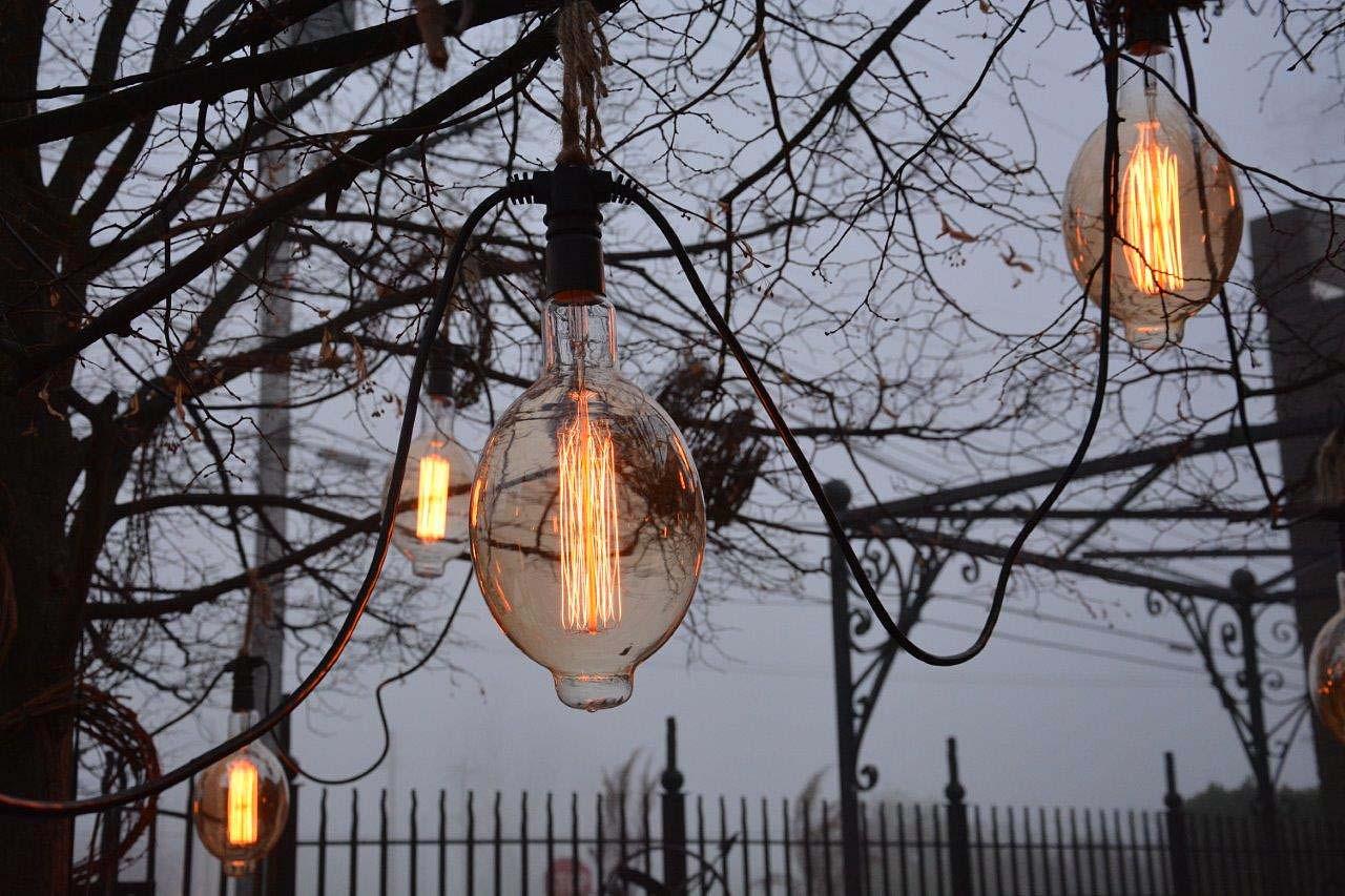 Ordinaire Edison Style Patio Lights