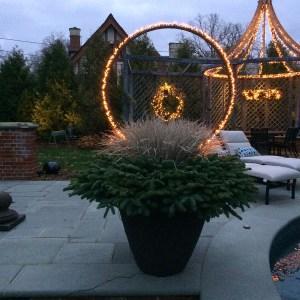 Light Ring Planter