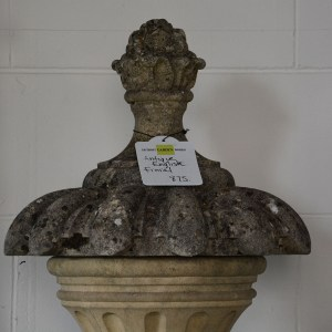 Antique English Finial Closer