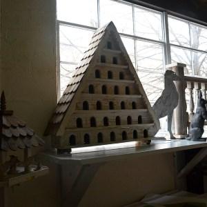 Seven Tier Birdhouse
