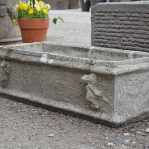 Stone Planter Putti