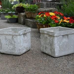 Square Concrete Containers Main