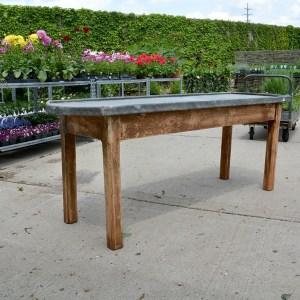 Zinc Top Table Main