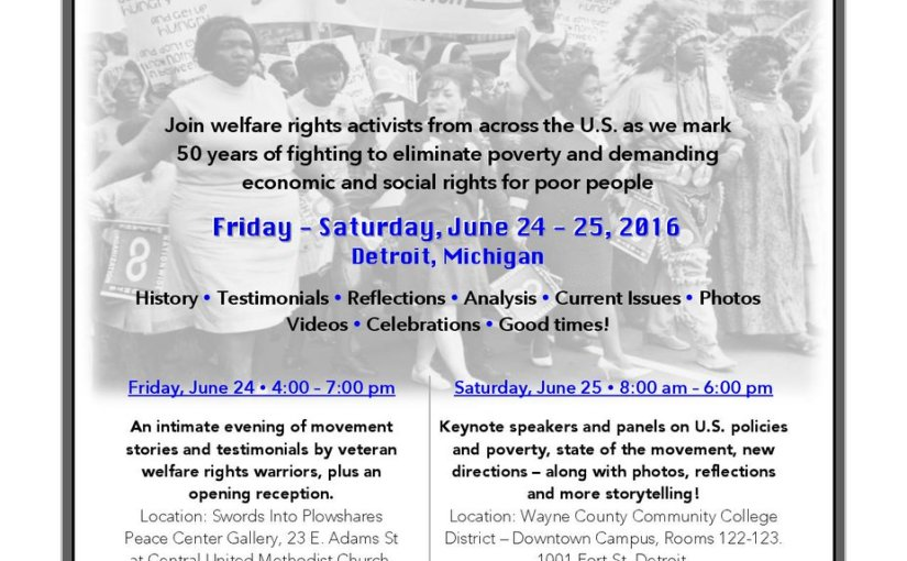 50th Anniversary of the Welfare Rights Movement