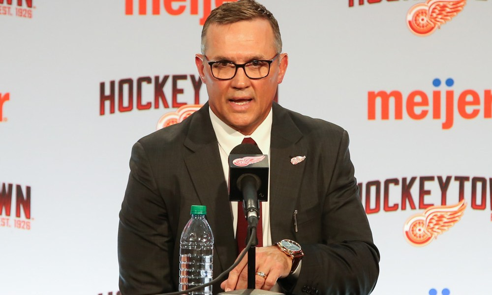 Detroit Red Wings Steve Yzerman will be a busy GM over the next couple of weeks
