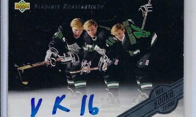 Vladimir Konstantinov hockey card