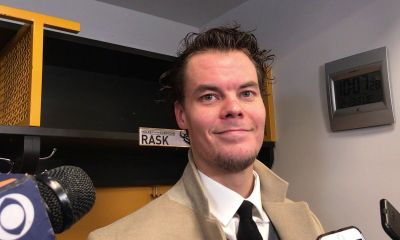 Some Boston Bruins fans were unhappy because injured Tuukka Rask attended a concert