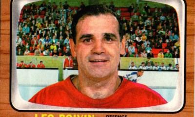Leo Boivin, former Detroit Red Wings defenseman