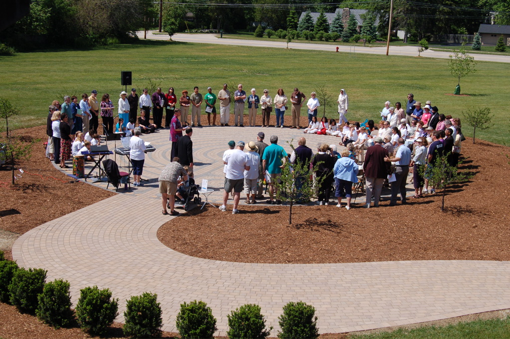 Labyrinth Dedication Ceremony