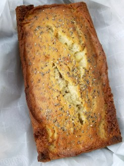 Banana Bread + Chia Seeds