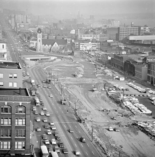 Black Bottom neighborhood, courtesy Walter P. Reuther Library