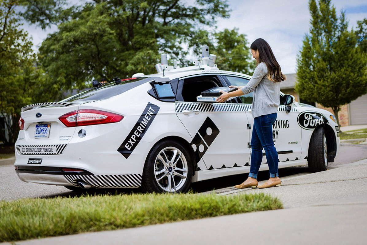 Domino's Pizza, the recognized world leader in pizza delivery, and Ford Motor Co. are launching an industry-first collaboration to understand the role that self-driving vehicles can play in pizza delivery.