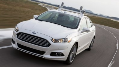 Ford's driverless car.