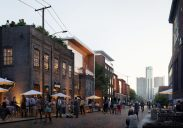 Franklin Street Heritage Area Concept, Courtesy Detroit Riverfront Conservancy