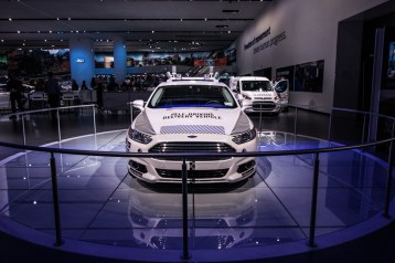 Ford reveals their new driverless cars