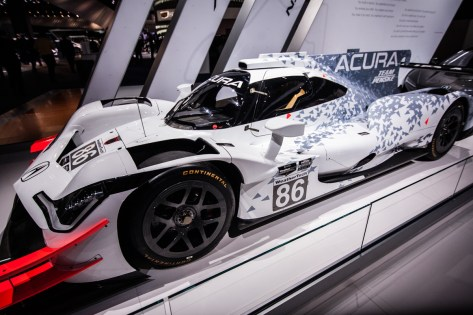 Team Penske shows off the 2018 Acura ARX-05 DPI Race Car