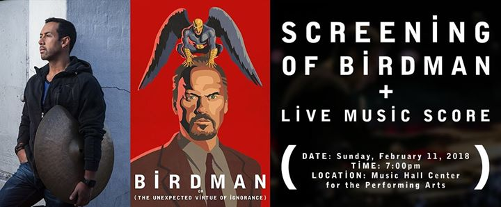 Birdman Screening + Live Music Score 6