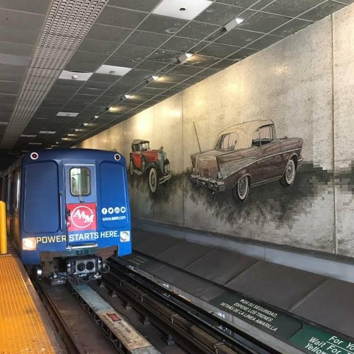 Art, History, and Oddities of the Detroit People Mover 6
