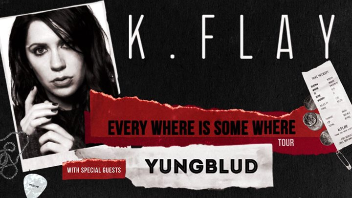 K.Flay at Magic Stick - Every Where Is Some Where Tour 6
