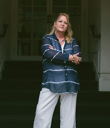 Theresa Flores, author and survivor of sex trafficking.
