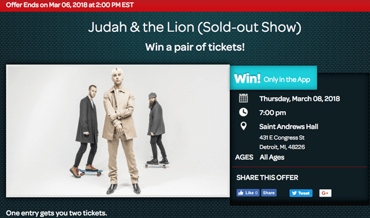 Sold Out - Judah & the Lion - Going to Mars Tour 6