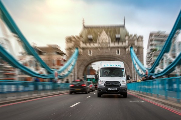 Initially, Chariot will run its 14-passenger, WiFi-enabled and air conditioned vehicles on four routes in London. These routes were designed based on a detailed analysis of areas that are currently harder to reach with current public transport, with the aim of helping people get through the first and last legs of their commutes. Chariot is not a replacement for public transport, but rather complements the city's existing services by helping people access them more easily.