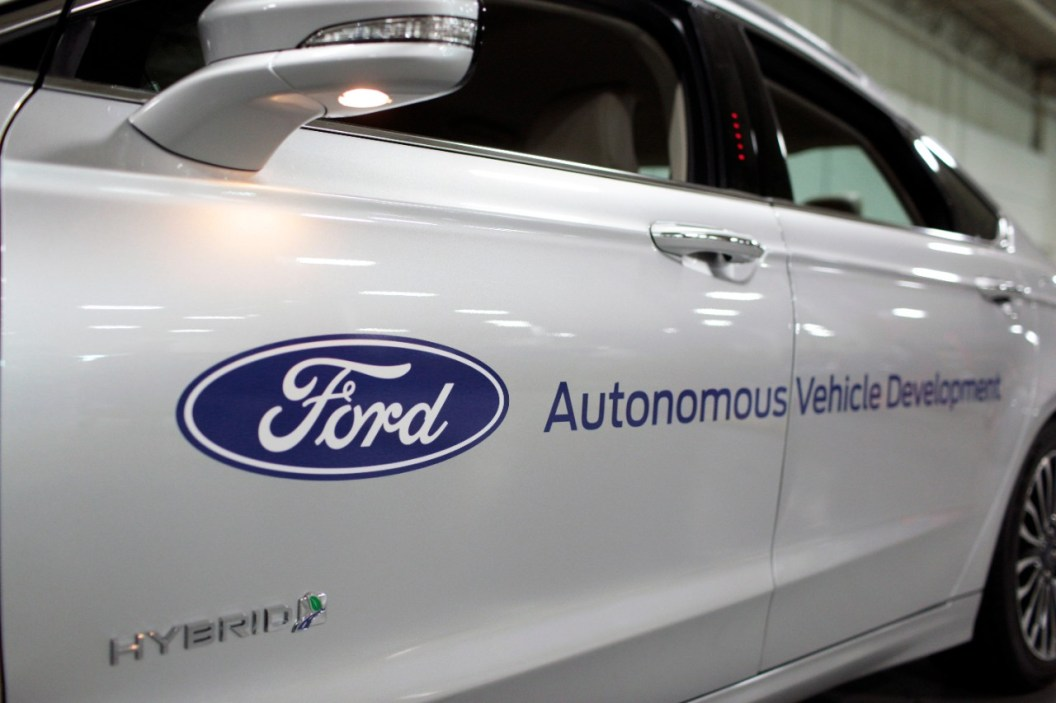 FORD RANKS FIRST IN THE STRATEGY AND EXECUTION OF SELF DRIVING CARS