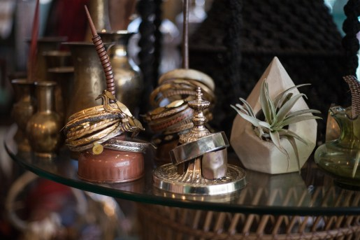 Bracelets and trinkets at Eldorado General Store. Photo Stephanie Hume.