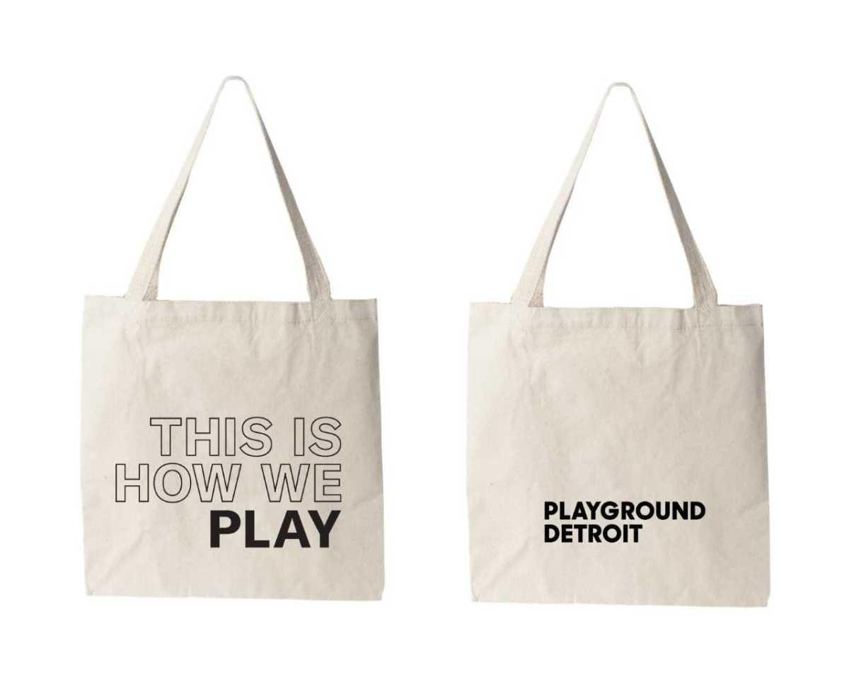 Playground Detroit: Membership Tote