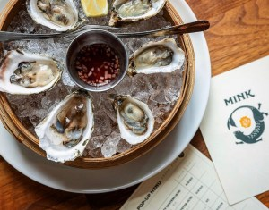 Oysters anyone? Photo courtesy of Mink