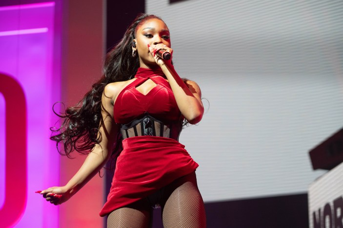 NORMANI PERFORMS AT FORBES UNDER 30 SUMMIT PHOTO AMI NICOLE / ACRONYM