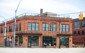 Ford is opening a new information center at the Factory at Corktown to facilitate engagement with the community.