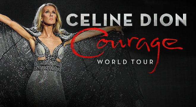 CELINE DION 'COURAGE' SHOWS