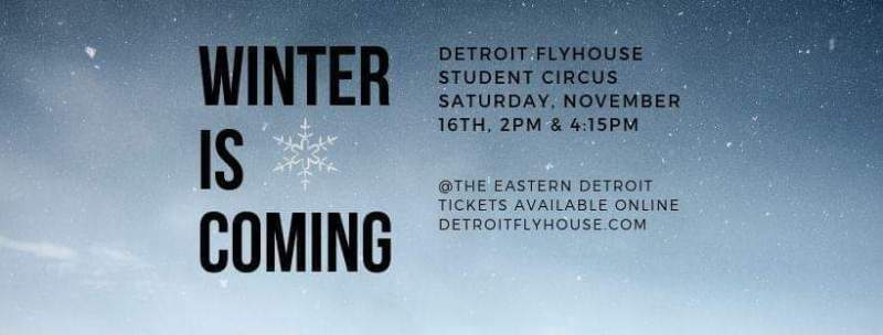 DETROIT FLYHOUSE ART CIRCUS