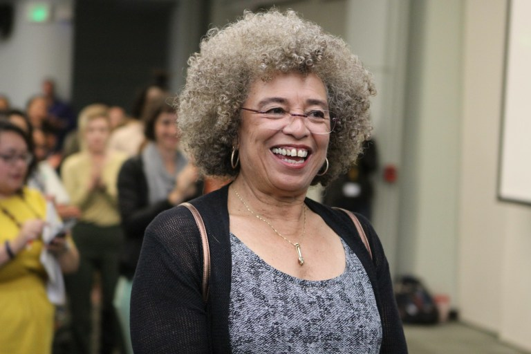 MLK ANGELA DAVIS AT A PREVIOUS EVENT. PHOTO BY SHAWN CALHOUN ON FLICKR