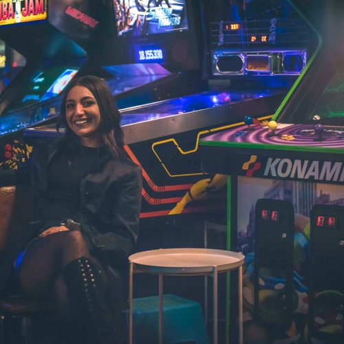DATE NIGHT AT THE ARCADE. PHOTO ACRONYM