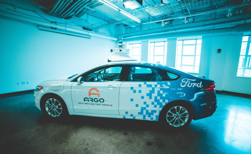 ARGO AI AUTONOMOUS VEHICLE. PHOTO AMY NICOLE / ACRONYM