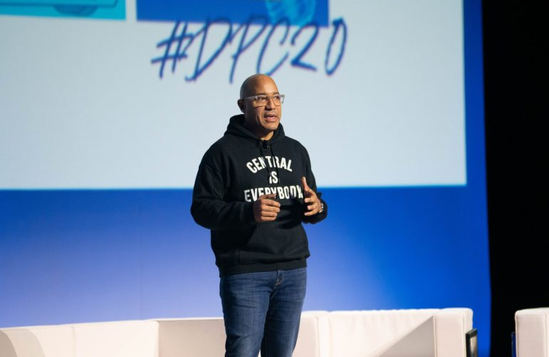 DENNIS ARCHER JR. AT DETROIT POLICY CONFERENCE 2020. PHOTO AMY NICOLE / ACRONYM