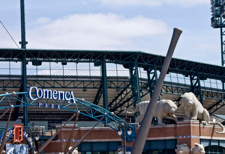COMERICA PARK HOME OF THE TIGERS. PHOTO AMY NICOLE / ACRONYM
