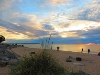 BEACH IN EMPIRE MI. PHOTO COURTESY PURE MICHIGAN