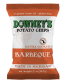 DOWNEY'S BARBEQUE POTATO CHIPS
