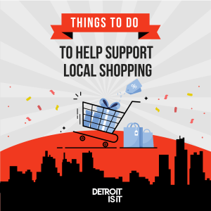 SHOPPING DETROIT FOR THE HOLIDAYS