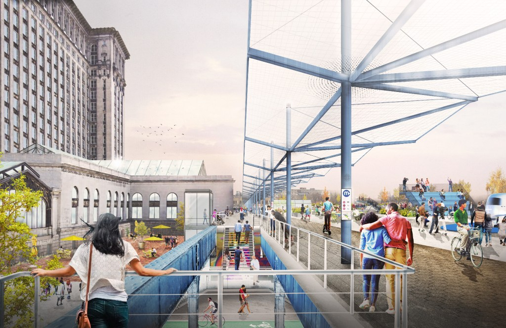Four Definitive Public Space Projects Redefining Public Spaces in Detroit 2