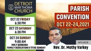 2021 Parish Convention