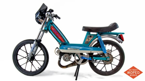 Peugeot Detroit Moped Works 1